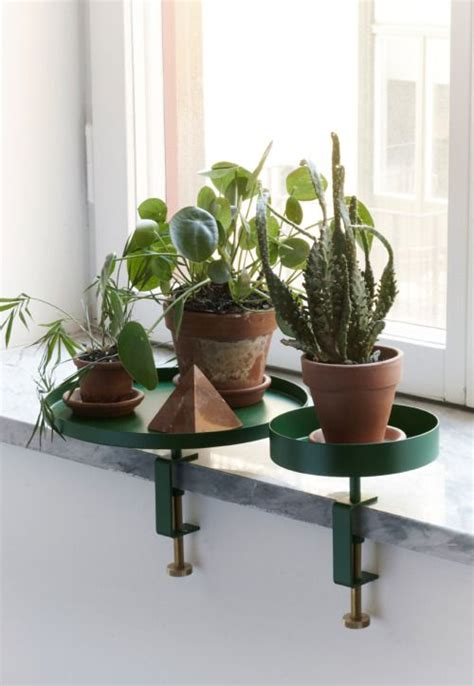 Window Ledge Plant Pots by Decorating With Plants