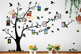 Best Etsy Family Photo Products Family Tree Wall Decal For Your Family Home Design Inspirations Family Tree Design Custom Tree With 15 By CreativeFamilyTree Family Tree Wall Designs Fab Ideas On Family Tree Wall Art Decor