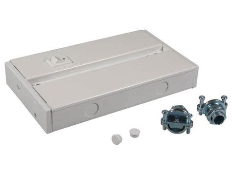 hardwire junction box for led complete undercabinet