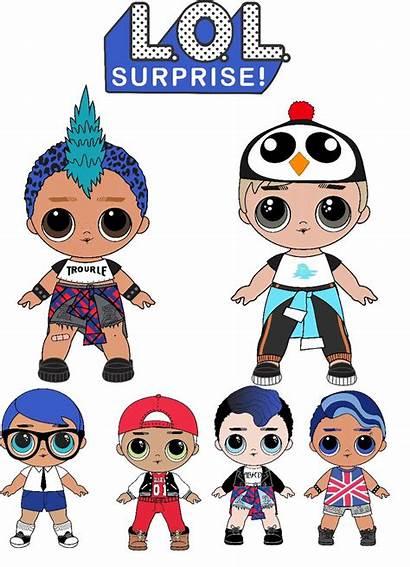 Lol Boy Menino Punk Dolls Display Doll