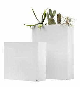 Blumenkübel Als Raumteiler : pflanzk bel raumteiler wei metall im greenbop online ~ Michelbontemps.com Haus und Dekorationen