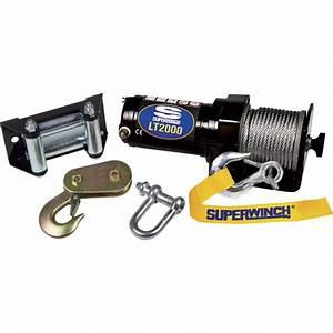 Superwinch 12 Volt Dc Powered Electric Atv Winch  U2014 2000