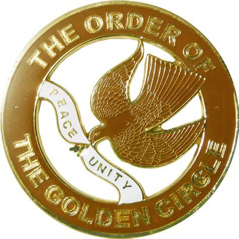 Aec 27 Gc Deluxe Cut Out Auto Emblem Golden Circle
