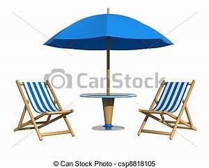 Sonnenschirm Tisch Kombination : stock bilder von blaues deckchair sonnenschirm tisch freigestellt csp8818105 suchen ~ Markanthonyermac.com Haus und Dekorationen