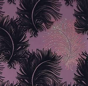 tapeten mit swarovski kristallen schicke wandverkleidung With markise balkon mit swarovski kristall tapete