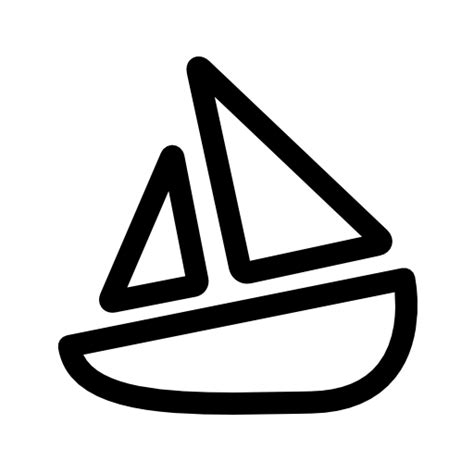 Simple Boat by Simple Boat Icon Free Icons