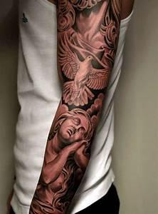 Tatouage Bras Complet Homme : 1001 id es tattoo tatouage tatouage bras tatouage ~ Dallasstarsshop.com Idées de Décoration