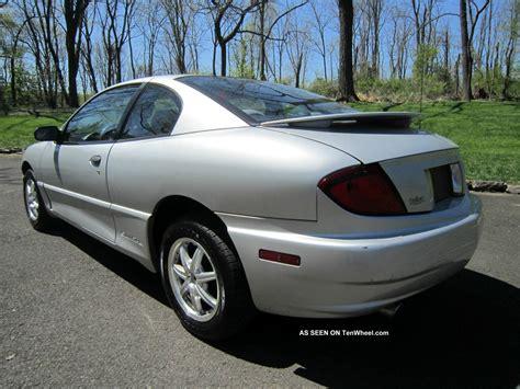 2003 Pontiac Sunfire Gt Coupe 2 Door 2 2l With