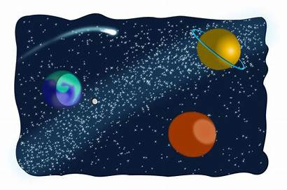 Clipart Space Outer Planets Transparent Jupiter Mars
