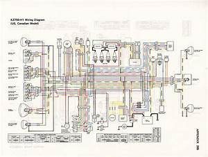 Kawasaki Kz750 Ltd Wiring Diagram
