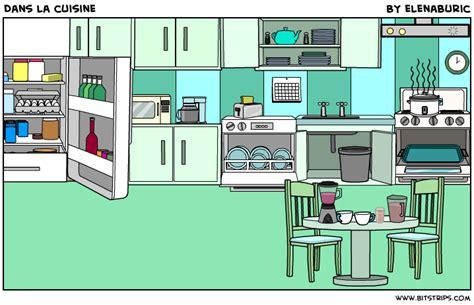 apprendre la cuisine la classe de français dans la cuisine objets de la