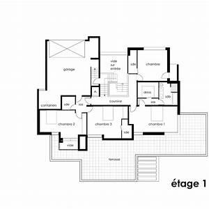 plan maison sur terrain de 300m2 With plan appartement 150 m2 3 plan maison sur terrain de 300m2