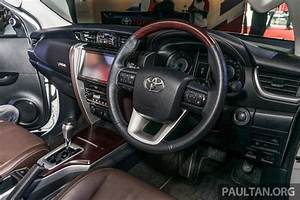 India-bound 2016 Toyota Fortuner interior launched in ...