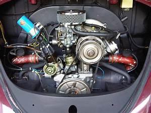 Clean 1600cc Engine In A Standard Bug  The Progressive