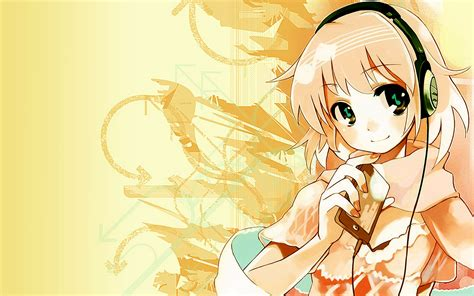 Anime With Headphones Wallpaper - 146527 jpg
