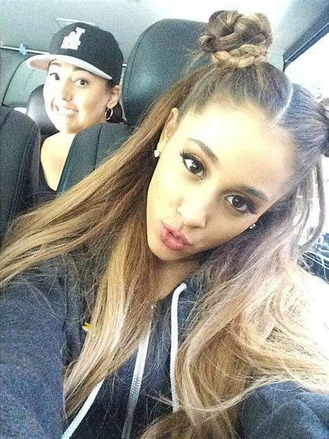 ariana grande hair steal  style page
