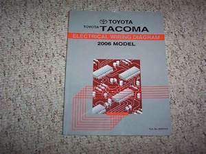 2006 Toyota Tacoma Truck Electrical Wiring Diagram Manual