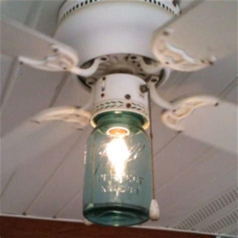 ceiling fan with mason jar lights mason jar ceiling fan light cover jars pinterest fan
