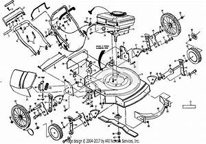 Poulan Xe750hwar Mower Parts Diagram For Mower Assembly