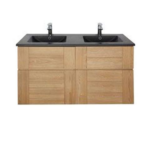 plan vasque essential noir 120 cm meuble sous vasque fr 234 ne 60 cm essential ii salle de bain
