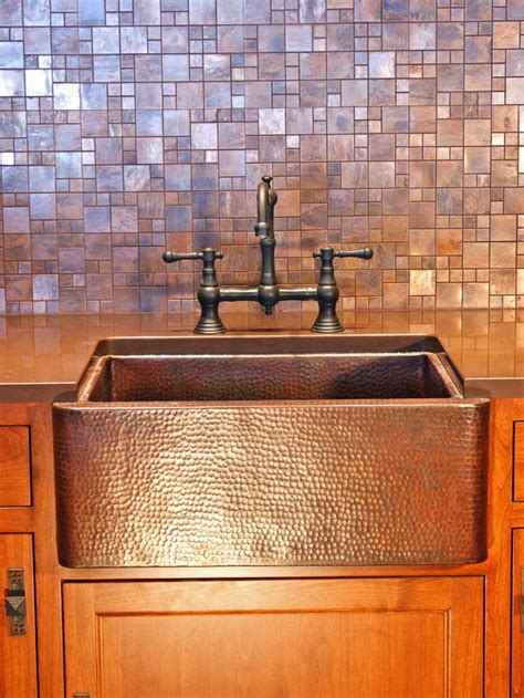 copper kitchen backsplash 30 trendiest kitchen backsplash materials kitchen ideas