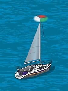 Required Navigation Lights  Sailboats Under Sail