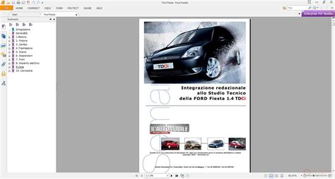 ford fiesta  tdci workshop manual auto repair manual