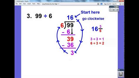 long division  digit divided   digit youtube