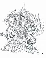 Coloring Beard Bloodwise Servant Deviantart Template Professional Pages Thunderfury Draeneis Drkav Fury Explore sketch template
