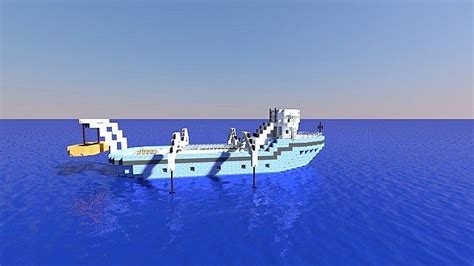 Minecraft Boat Crash by Fishing Boat Minecraft Project