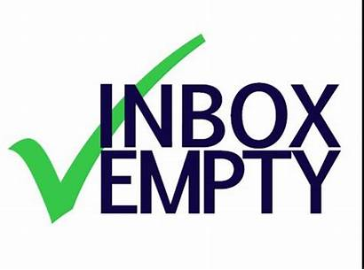 Inbox Clipart Clean Email Empty Business Week