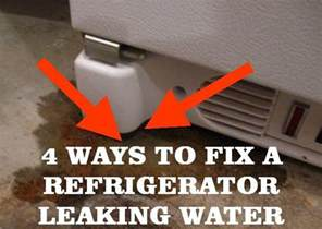 5 ways to fix a refrigerator leaking water removeandreplace