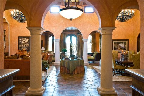tuscan villa mediterranean living room other by