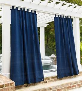 Grasscloth, Outdoor, Curtain, Panel, With, Tab, Top, 110, U0026quot, W, X, 84, U0026quot, L