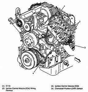 Car Repair World  Pontiac Crankshaft Position Sensor Location