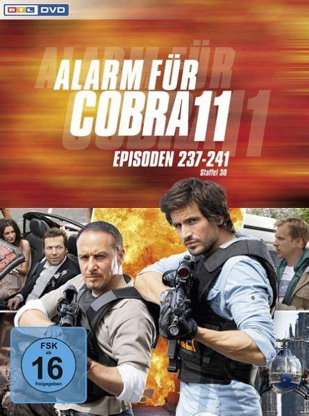 alarm fuer cobra  staffel  film auf dvd buecherde