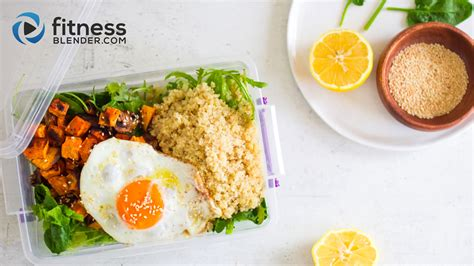 healthy packed lunch idea quick easy to go lunch