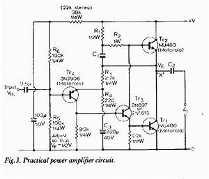 A Practical Power Amplifier Circuit