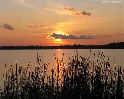 Minnesota Summer Sunset Desktop Wallpapers River Computer