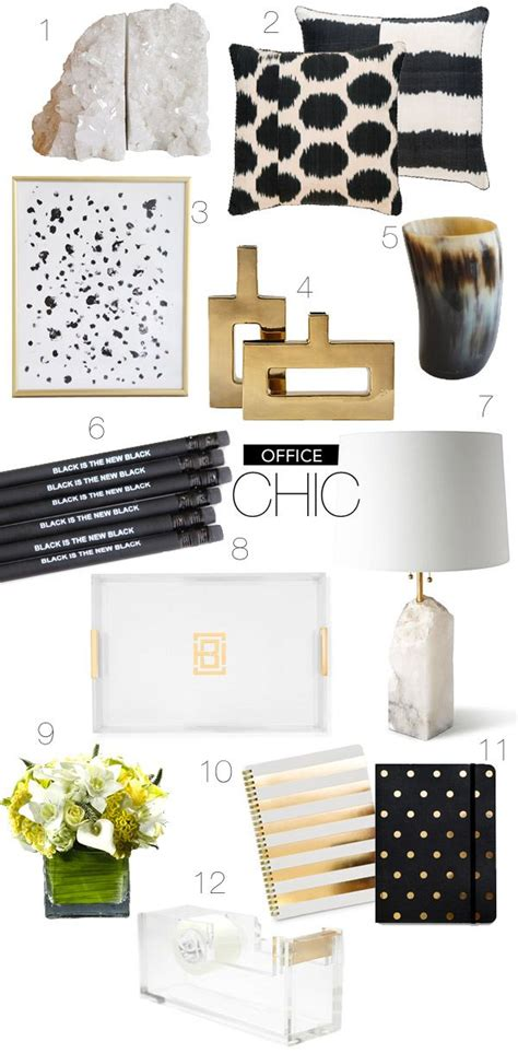 black and gold desk accessories office ideas i office chic gold office accessories we