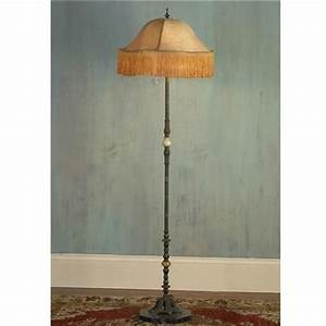 39 best images about best floor lamps on pinterest for Antique floor lamp with fringed shade
