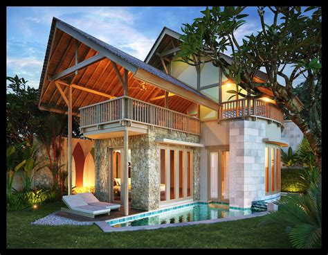 architecture balinese style house designs natural home
