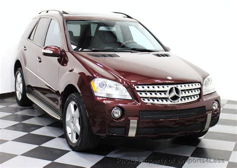 Body additions from amg impart a sporty look, and the big. 2008 Used Mercedes-Benz ML550 V8 4MATIC AWD AMG SPORT ...