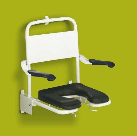 si鑒e de rabattable avec accoudoirs tabouret siège de aide toilette personnes handicapés