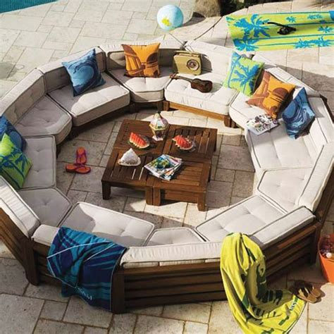 outdoor sofa circle furniture design