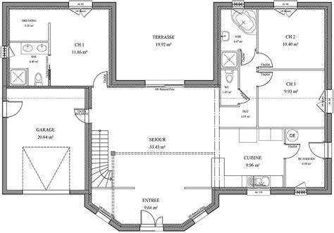 maison 5 chambres simple nos maisons plans poitiers plan maison en bois