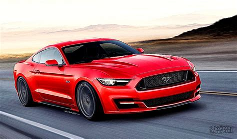 2015 Ford Mustang Sync Wallpaper HD
