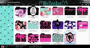 cute icons folders by mllebarbie03 by mllebarbie03 on With cute document folder