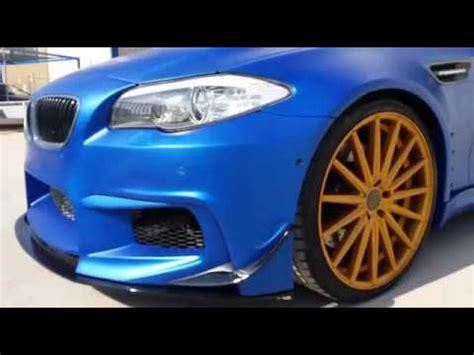 bmw m5 pd5xxf10 widebody aero kit vossen wheels rolling out