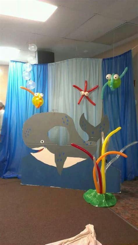 jonah   big fish sunday school decorations jonah